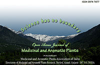 Open Access Journal of Medicinal and Aromatic Plants
