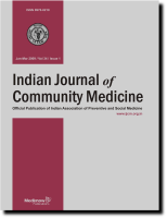 Indian Journal of Community Medicine