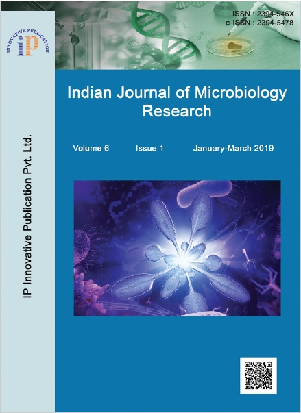 Indian Journal of Microbiology Research