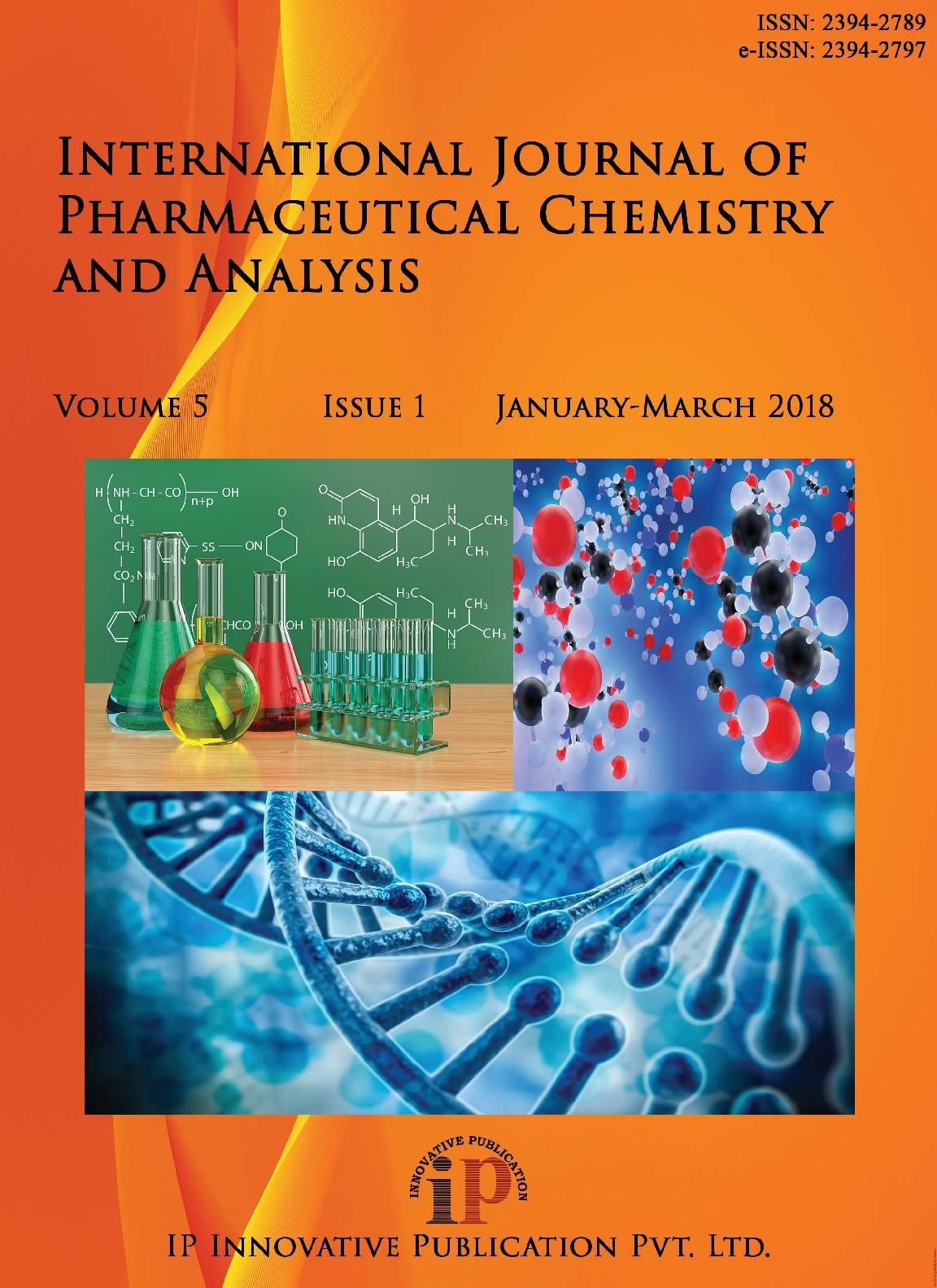 International Journal Of Pharmaceutical Chemistry And Analysis