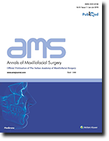Annals of Maxillofacial Surgery