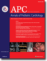 Annals of Pediatric Cardiology