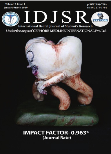 International Dental Journal of Student Research