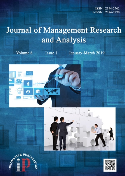 Journal Of Management Research And Analysis