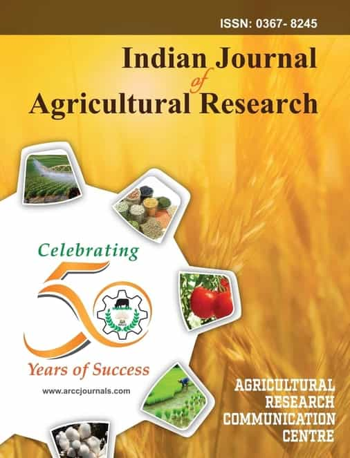 Indian Journal of Agricultural Research