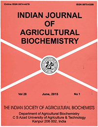 Indian Journal of Agricultural Biochemistry