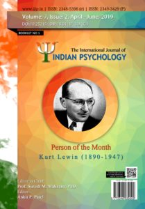 The International Journal of Indian Psychology