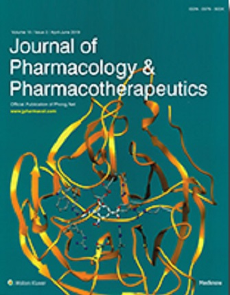Journal of Pharmacology and Pharmacotherapeutics