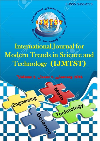 International Journal for Modern Trends in Science and Technology