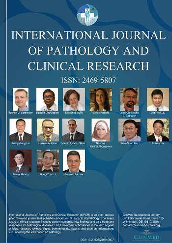 International Journal of Pathology and Clinical Research