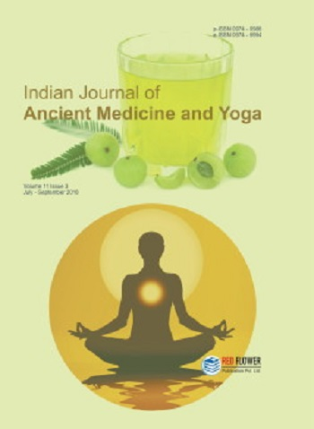 Indian Journal of Ancient Medicine and Yoga