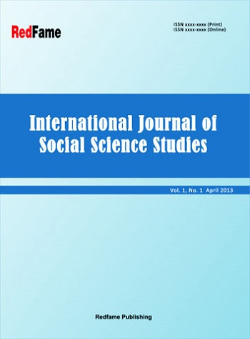 International Journal of Social Science Studies