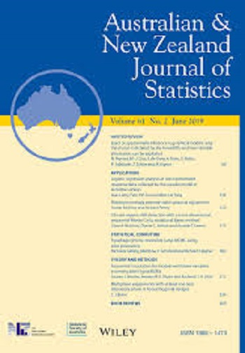 Australian and New Zealand journal of statistics