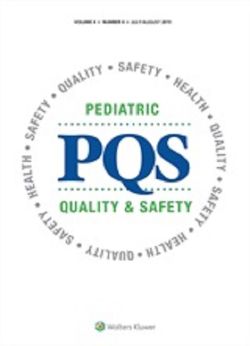 Pediatric quality and safety