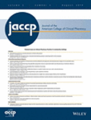 Journal of the American College of Clinical Pharmacy