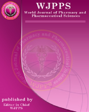 World journal of pharmacy and pharmaceutical sciences