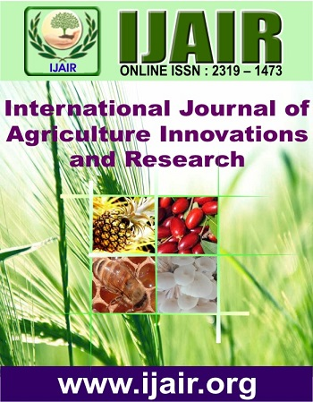 International journal of agriculture innovations and research