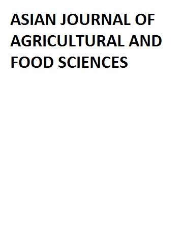 Asian journal of agriculture and food science