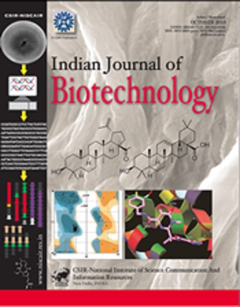 Indian journal of biotechnology