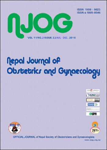 Nepal Journal of Obstetrics and Gynaecology