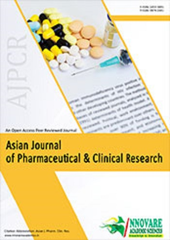 The Asian Journal of Pharmaceutical and clinical research