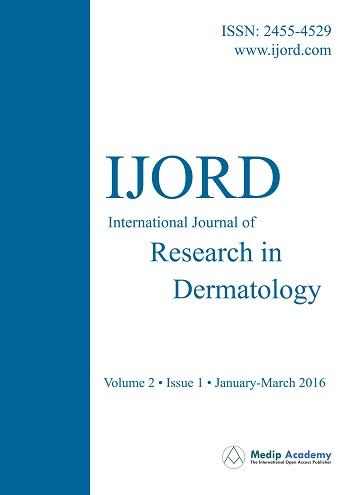 International Journal of Research in Dermatology