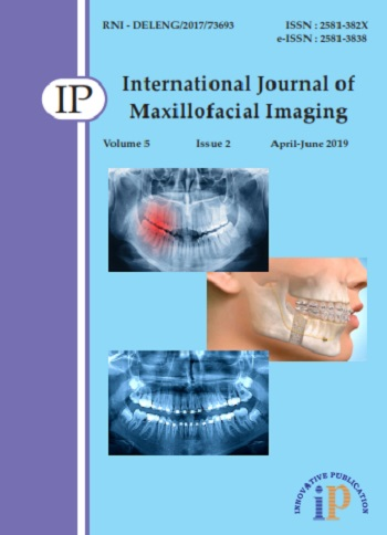 IP International Journal of Maxillofacial Imaging