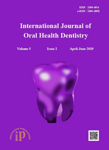 International Journal of Oral Health Dentistry
