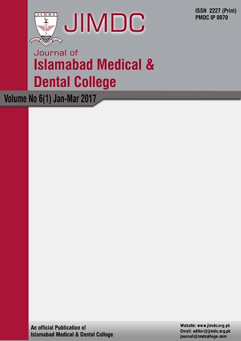 Journal of Islamabad Medical and Dental College