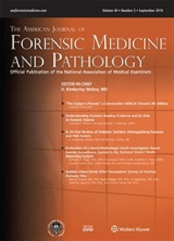 The American Journal Of Forensic Medicine And Pathology Open Access Journals