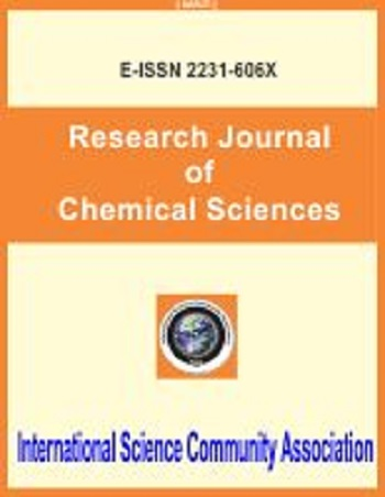Research Journal of Chemical Sciences