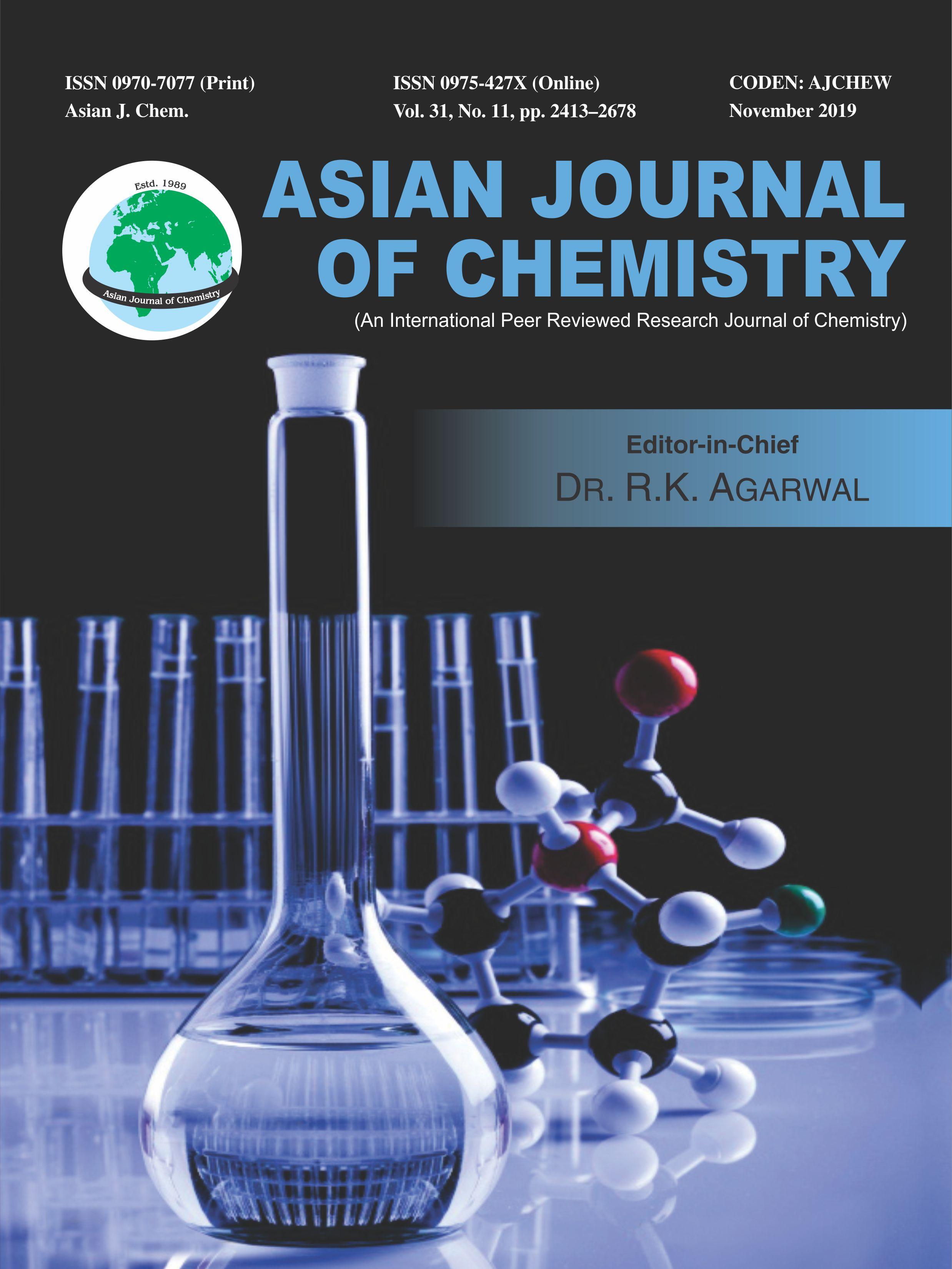 Asian Journal of Chemistry
