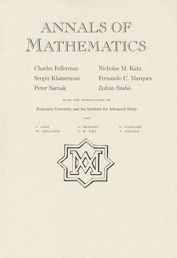 Annals of mathematics