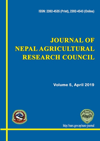 Journal of Nepal Agricultural Research Council