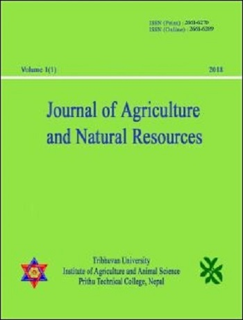 Journal of Agriculture and Natural Resources