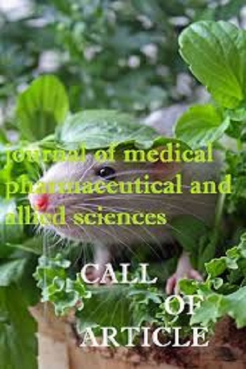 Journal of medical pharmaceutical and allied sciences