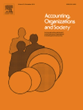 Accounting Organizations and Society