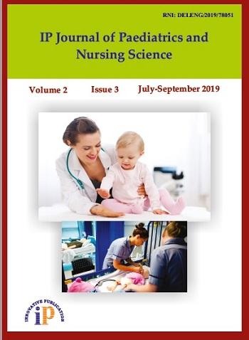 IP Journal of Paediatrics and Nursing Science