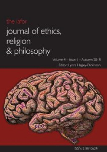 IAFOR Journal of Ethics Religion and Philosophy