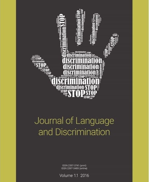 Journal of Language and Discrimination