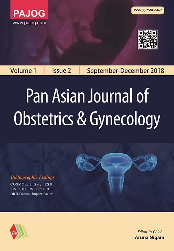Pan Asian Journal of Obstetrics and Gynecology
