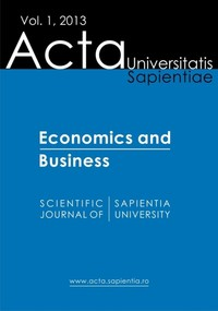 Acta Universitatis Sapientiae Economics and Business