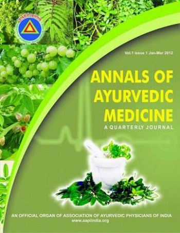 Annals of Ayurvedic Medicine