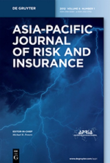 Asia Pacific Journal of Risk and Insurance