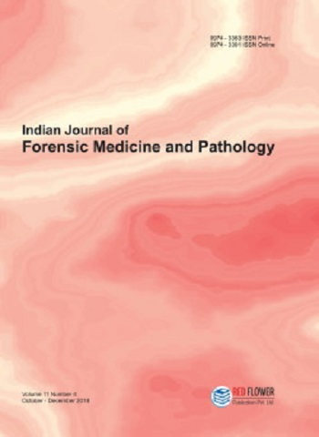 Indian Journal of Forensic Medicine and Pathology