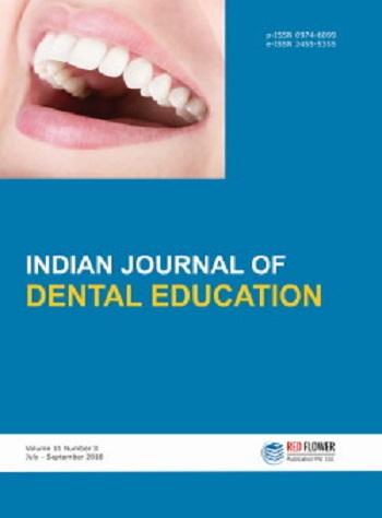 Indian Journal of Dental Education