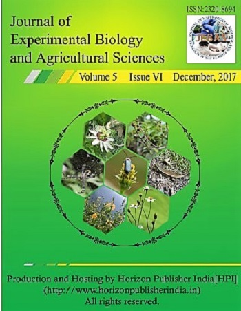 Journal of Experimental Biology and Agricultural Sciences
