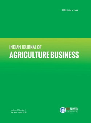 Indian Journal of Agriculture Business