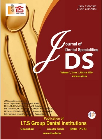 Journal of Dental Specialities