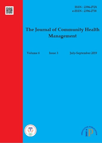 The Journal of Community Health Management